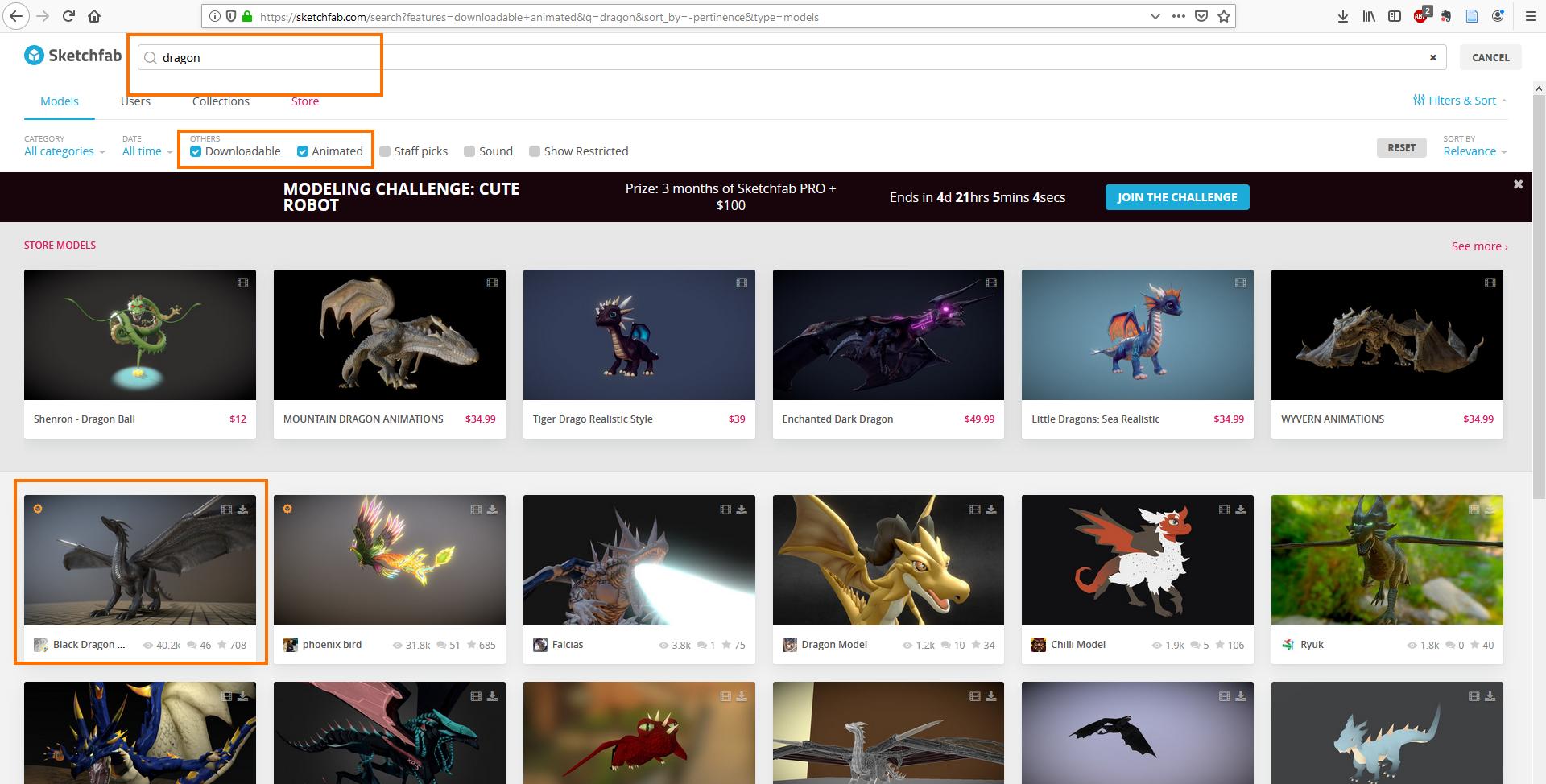 Import GLTF animations - Minsar User Guide